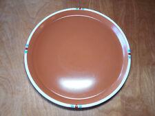"Dansk Japan MESA TERRACOTTA Set of 2 Round Serving Platters 13"""