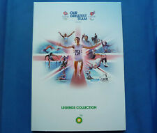 ROYAL MINT BP OLYMPIC COIN ALBUM + 10 MEDALLIONS