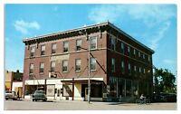 1950s/60s Rex Hotel, Baudette, MN Postcard