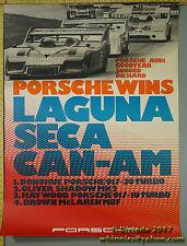 1973 Laguna Seca Donohue 917  Porsche Genuine Factory Poster Original