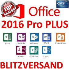 Microsoft Office 2016 Professional Plus Lifetime Key Lizenzschlüssel Vollversion