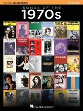 Hal Leonard Songs of The 1970sthe Decade Series-easy Piano