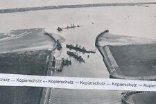 U-Boote in Zeebrügge - um 1940 -        M 15-7