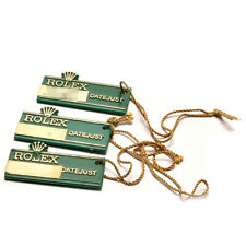 Auth ROLEX Hang tag for DATE JUST 3 pieces Green Vintage Used ip067