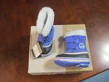 Sorel 1964 Pac Strap Toddler 4 Purple Winter snow Boot UK 3 EU 21 NV1876-546