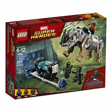LEGO Marvel Black Panther Rhino Face-Off by the Mine Building Kit LEG76099