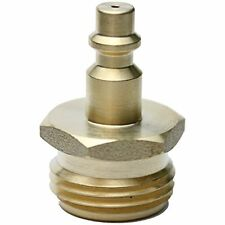 RV Blow Out Plug with Brass Quick Connect for Winterization - sea doo jet ski