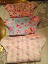 """15""""-20"""" Wetting Doll 3 DOLL DIAPERS Fit Baby Alive, Cabbage Patch Berenguer+"""