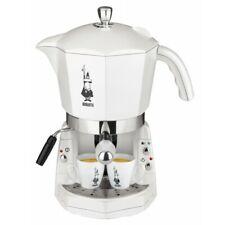 Mokona Bialetti Macchina Caffè Espresso Manuale Cialde Capsule Bianca 012400092