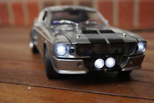 1967 FORD MUSTANG GT 500 SHELBY ELEANOR MIT LED-BELEUCHTUNG(XENON)1:18 GRAU