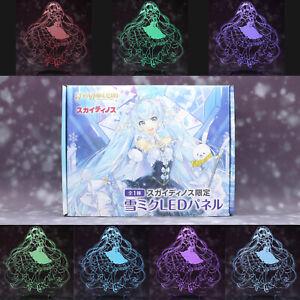 Vocaloid Hatsune Miku USB LED Illumination Panel Multicolor Project DIVA piapro