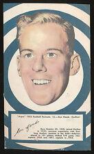 1953 Argus Football Large Portraits Carlton Blues Ken Hands card no 13 ***