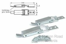 2 Large Toggle Catches for Model Railway Train Set Baseboards, Clamps, Clips