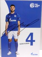 Autogrammkarte des FC Schalke 04 - 2019/2020 + Ozan Kabak + AK2019149 +