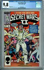 SECRET WARS II 6 CGC 9.8 WP NEW NON-CIRCULATED CASE Marvel 1985