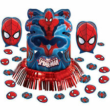Marvel Spider-Man Table Decorating Kit Centerpiece Birthday Party Supplies 23pc