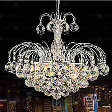 Elegant 3 Light Crystal ball Chandelier Lighting Pendant Lamp Ceiling Fixture