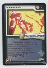 2002 Dragonball Z TCG: World Games Booster Pack Base #8 Blue Fire Kick Card 0d7