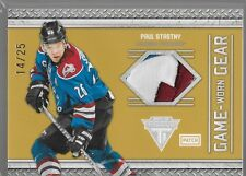 11/12 Titanium Game Gear Patch Paul Stastny /25 32 Avalanche
