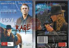 LOVE & RAGE Greta Scacchi Daniel Craig horse NEW DVD