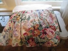 Ralph Lauren Allison Chintz Floral Queen Bed Skirt #214