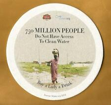 16 Stella Artois 750 Million People Do Not Have Clean Water  Beer Coasters