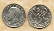 real silver 3d Three Pence coin 1915 Fine for collecting or invest in silver