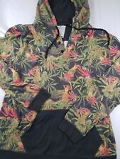 On the Byas All over Print Marijuana Weed Long Sleeve Hoodie size XL