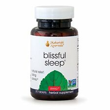 Blissful Sleep | 30 Herbal Tablets | Natural Aid for Falling Asleep Quickly