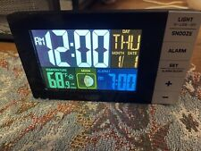 La Crosse Technology Ledalarm Clock