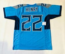 DERRICK HENRY AUTOGRAPHED SIGNED PRO STYLE JERSEY w/ BECKETT COA #WC03433