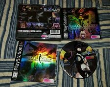 Elemental Gearbolt Sony PlayStation, PS1 BLACK LABEL, COMPLETE!!! Rare.