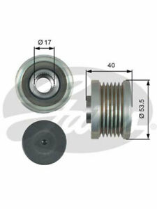 Gates Alternator Decoupler Pulley FOR NISSAN TIIDA C11X (OAP7179)