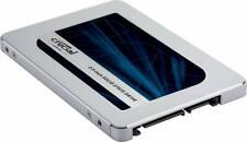"Crucial 500GB MX500 Internal SSD (CT500MX500SSD1) SATA 2.5"" with 9.5mm adapter"