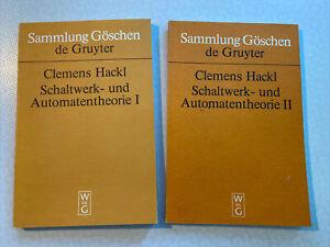 C. Hackl: Schaltwerk- und Automatentheorie Bd I + II