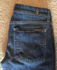 7 For All Mankind Flynt Bootcut Stretch Size 27 28x28 Women