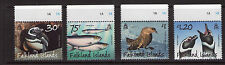 FALKLAND ISLANDS Magellanic Penguins,Predators and Prey 21-8-15  Set MNH