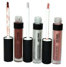 3Pcs Of Make Up For Ever LabShine Lip Gloss ShadesM2,M16,S12 Full Size New&Unbox