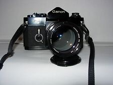 Canon F1 OLD  con 135mm 2.8 Canon.  20mm 2,8 Mitacon