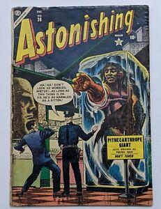 Astonishing #36 (Dec 1954, Atlas) Good 2.0 Carl Burgos cvr Dave Berg art