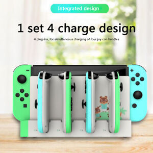 4 IN 1 Controller Charger Charging Dock Stand Holder For Nintendo Switch Joy-Con