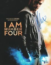 Alex Pettyfer REAL hand SIGNED Photo #5 BAS COA I Am Number Four Magic Mike