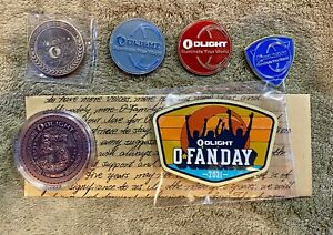 Olight Bundle - Coins & Patch - 8 items - New