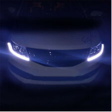 12V Dual Color Tearful Eyes LED Light Turn Signal Daytime Running Lights Bright