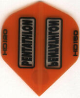 Orange PENTATHLON HD150 Dart Flights: 3 per set