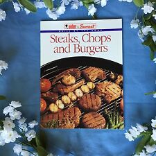 Weber & Sunset Grill by the Book Steaks, Chops, and Burgers Cookbook