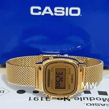 LATEST CASIO LA670WGMY-9D LA670 VINTAGE DIGITAL WOMEN'S GOLD WATCH NEW LADIES