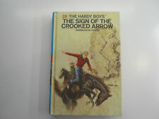 Hardy Boys #28, Sign of the Crooked Arrow, Picture Cover