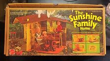 VINTAGE BOXED THE SUNSHINE FAMILY HOME PLAYSET WITH DOLLS HOUSE AND FURNITURE NC