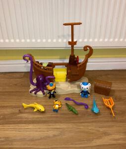 Octonauts Bundle Toys Pirate Calico Shipwreck Ship Playset Figures Sea Creatures